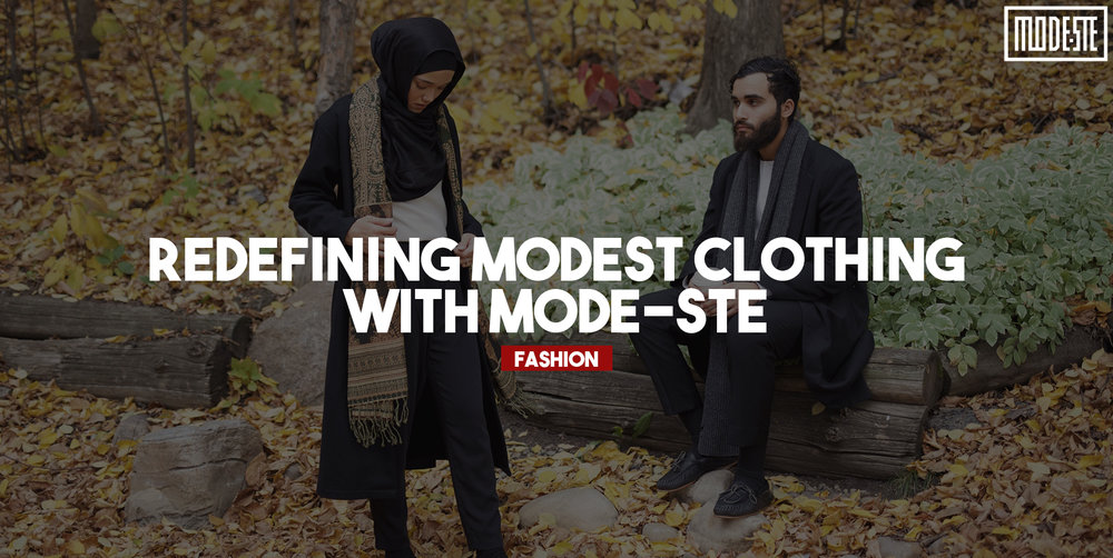 Aicha Chtourou is the founder, CEO and creative director of her Montreal-based company Mode-ste. We sat down with her and her partner Bilal to discuss the story behind Canadas's first homegrown Modest clothing store.