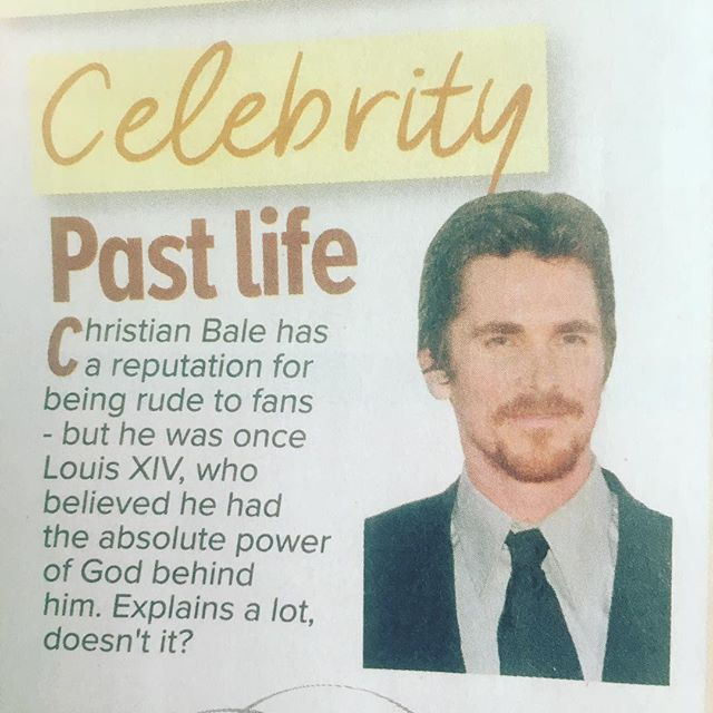 hi @christianbale_ - i'm sure this is old news to you but i have to say #jennysmedley - i'm not entirely sure what this explains