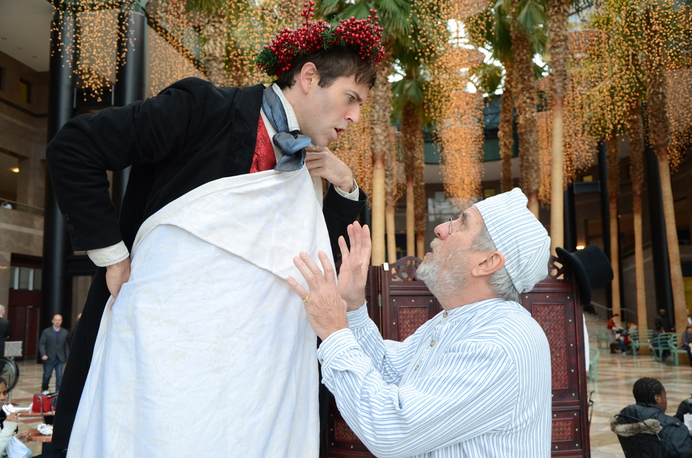 New York Classical free holiday theatre in the city A Christmas Carol Charles Dickens