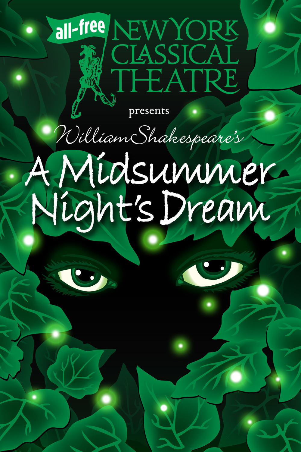 Performs May 31-July 17 First up is A Midsummer Night's Dream.Last presented by New York Classical in 2000,Midsummertells the story of young love: all the passion and romance with a generous helping of hysterics and hijinks! Click HEREfor more details!