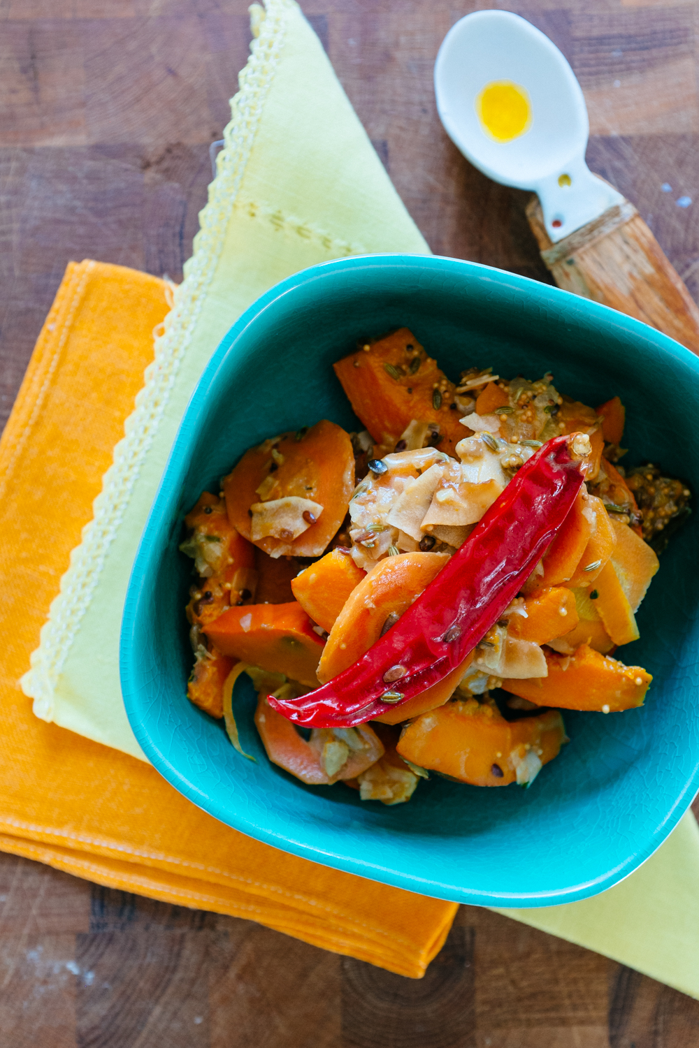 Coconut & Seasonal Squash Curry with Red Rice — Localboxx