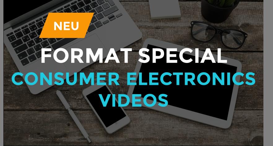 CONSUMER ELECTRONICS VIDEOS