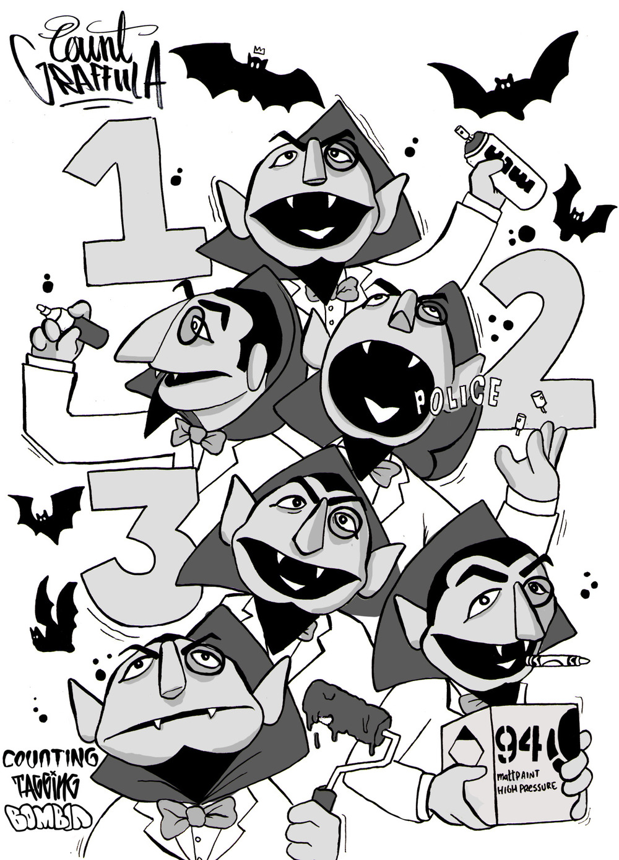 """Count Graffula"" 2016"