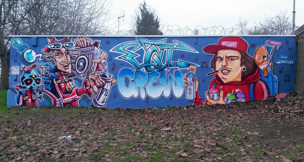 Eat Crew Mural