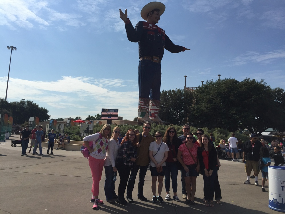 Staff Meeting at The State Fair of Texas