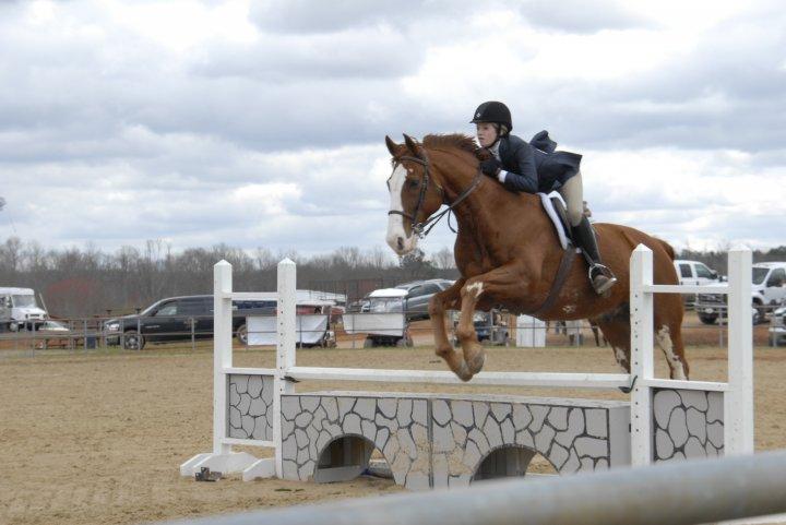 TrizCom PR intern and equestrian Sarah Mosso