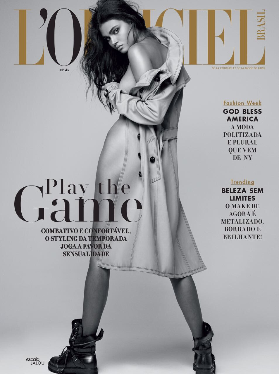 L'OFFICIEL MAGAZINE   BRAZIL    (CLICK TO VIEW GALLERY)