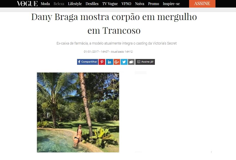 Click here to read the article: http://vogue.globo.com/beleza/gente/noticia/2017/01/dany-braga-mostra-corpao-em-mergulho-em-trancoso.html