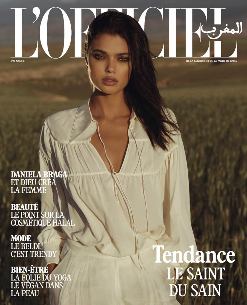L'OFFICIEL MAGAZINE   MAROCCO   (CLICK TO VIEW GALLERY)