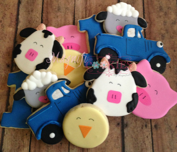 Little Blue Truck Cookies