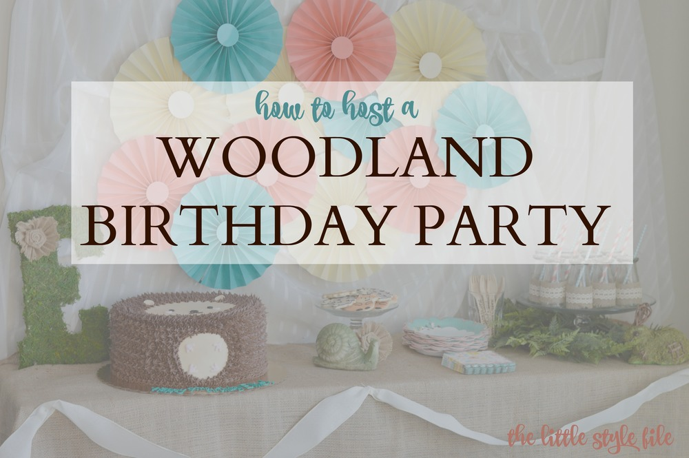 Woodland birthday party the little style file minted again comes through with the perfect woodland birthday party invitation did you notice theres even a hedgehog the banner between the trees is stopboris Gallery