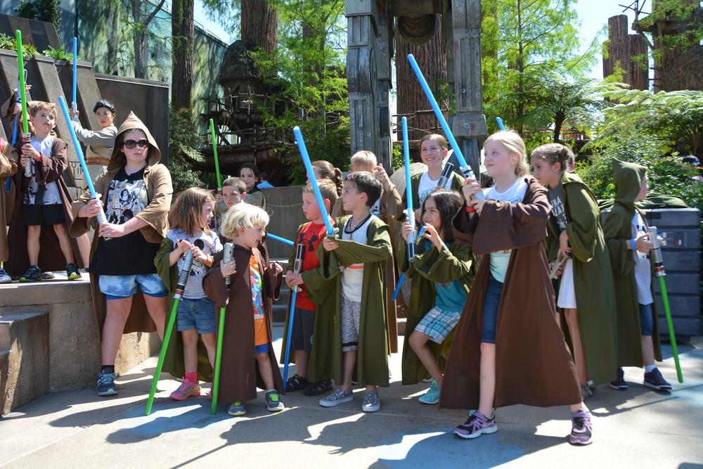 Jedi Training at Disney World