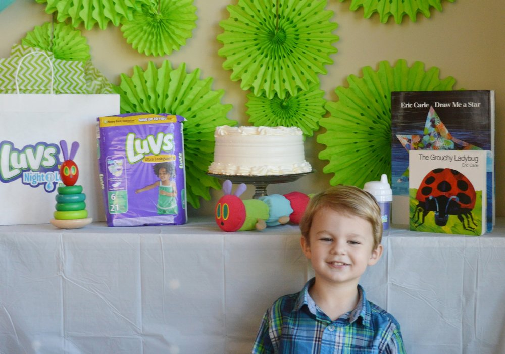 luvs diaper party