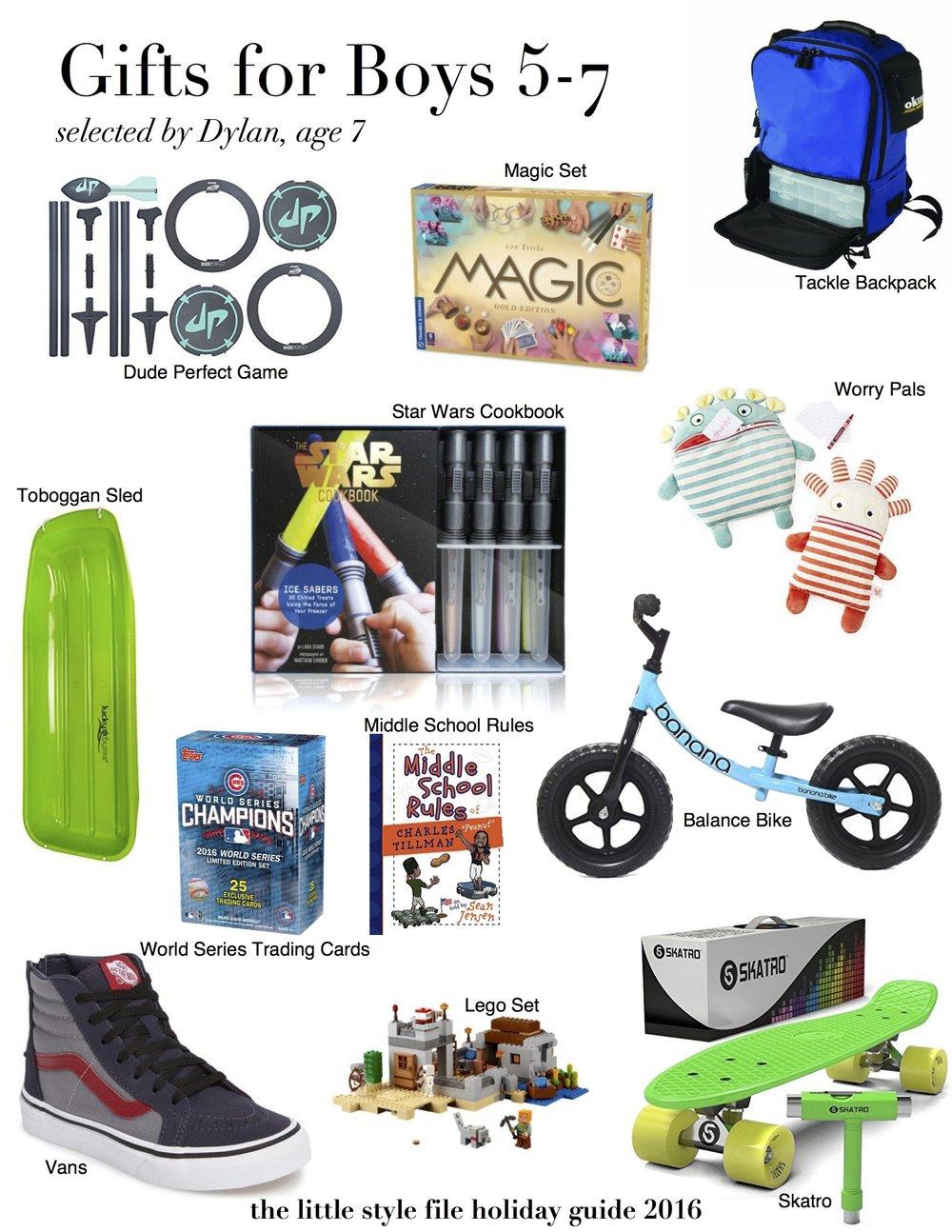 Holiday Gift Guide Gifts for Boys