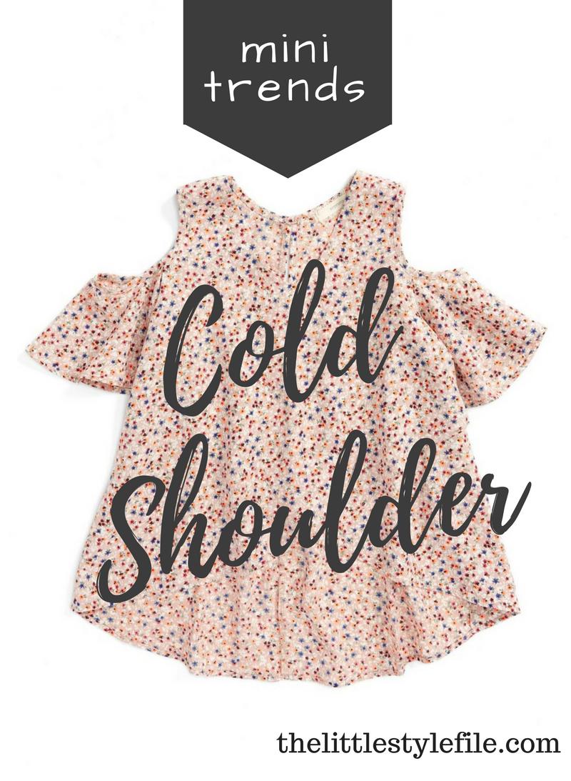 cold shoulder shirts for girls