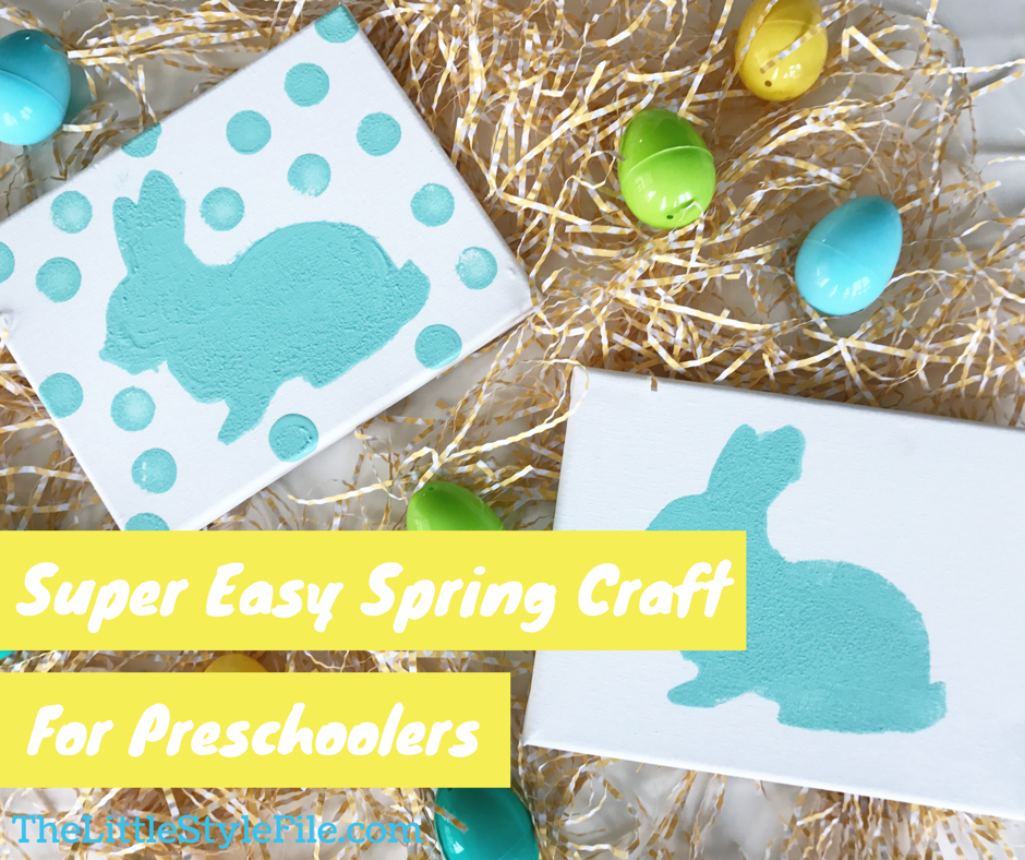 Easy Spring Craft For Toddlers The Little Style File