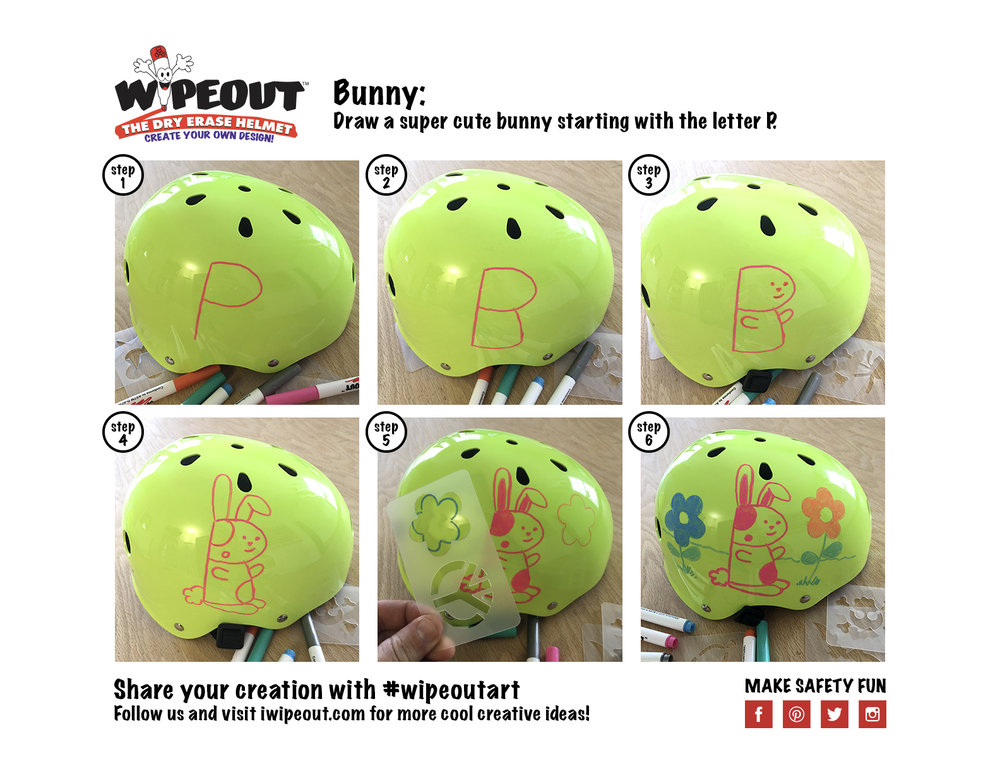 wipeout helmet tutorial