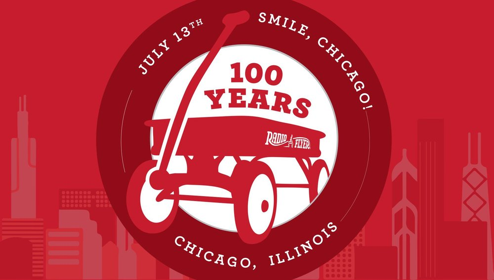 radio flyer 100th anniversary