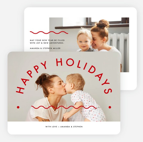 best holiday photo cards