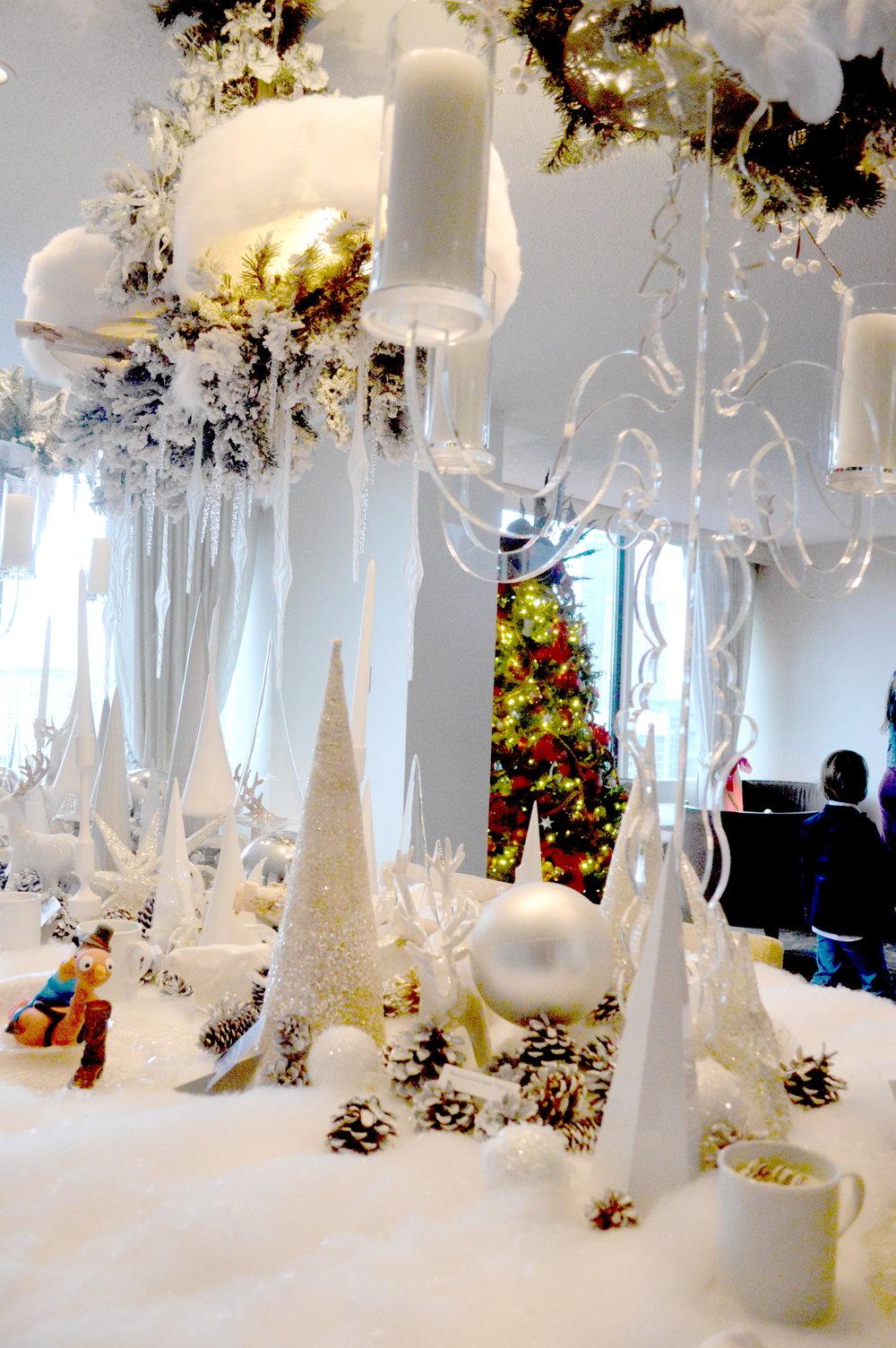 santa suite at the Swissotel