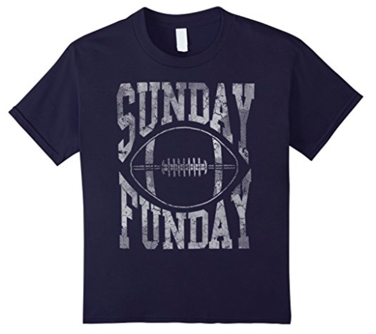 Sunday Funday t-shirt for kids