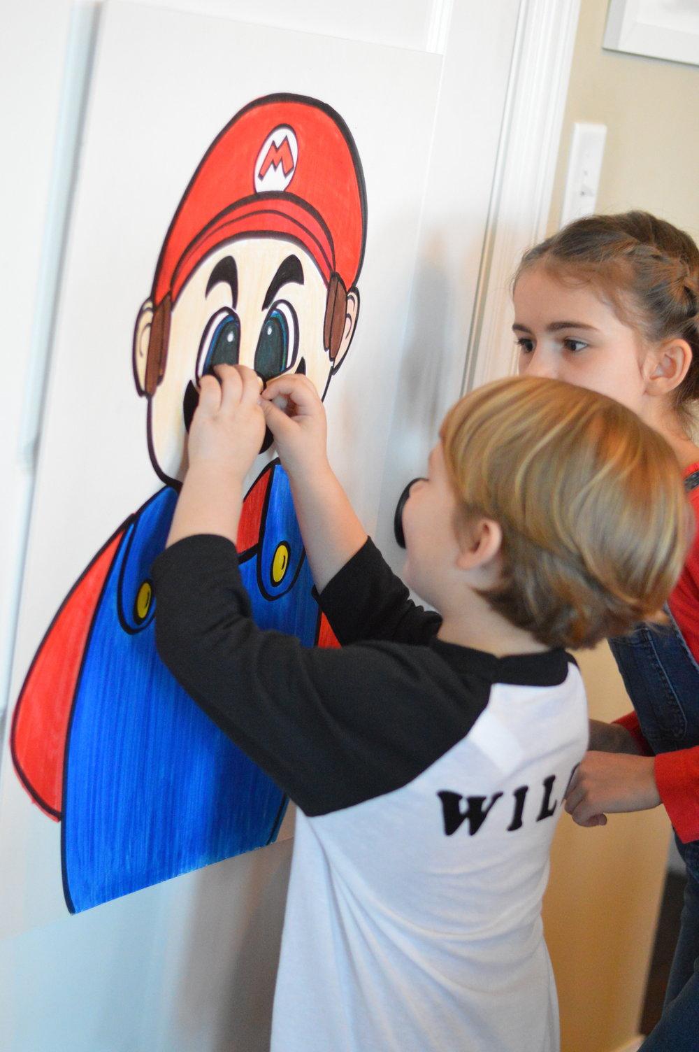 super Mario birthday party games
