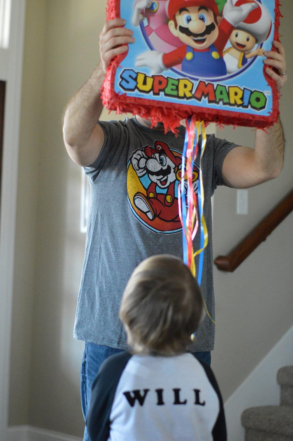 super Mario birthday games