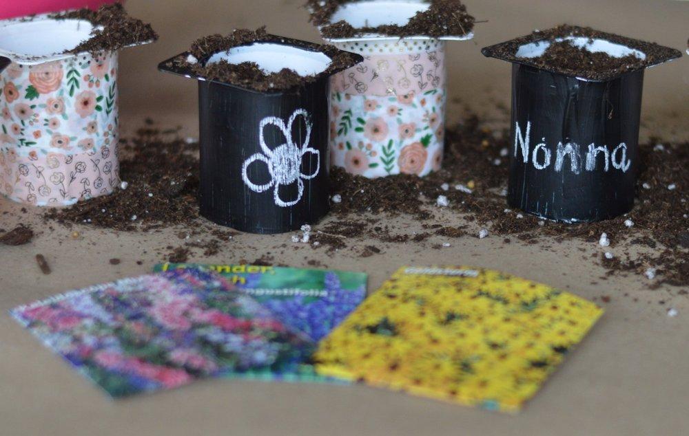 kids planting craft