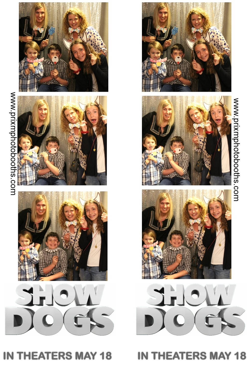 show dogs movie photo booth