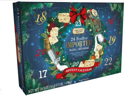 Imported Cheese Advent Calendar