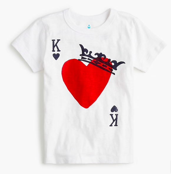 fun Valentine's Day shirts for kids