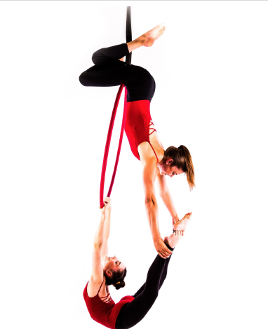 thigh hold/double hocks hang: hold ankle (birdie)