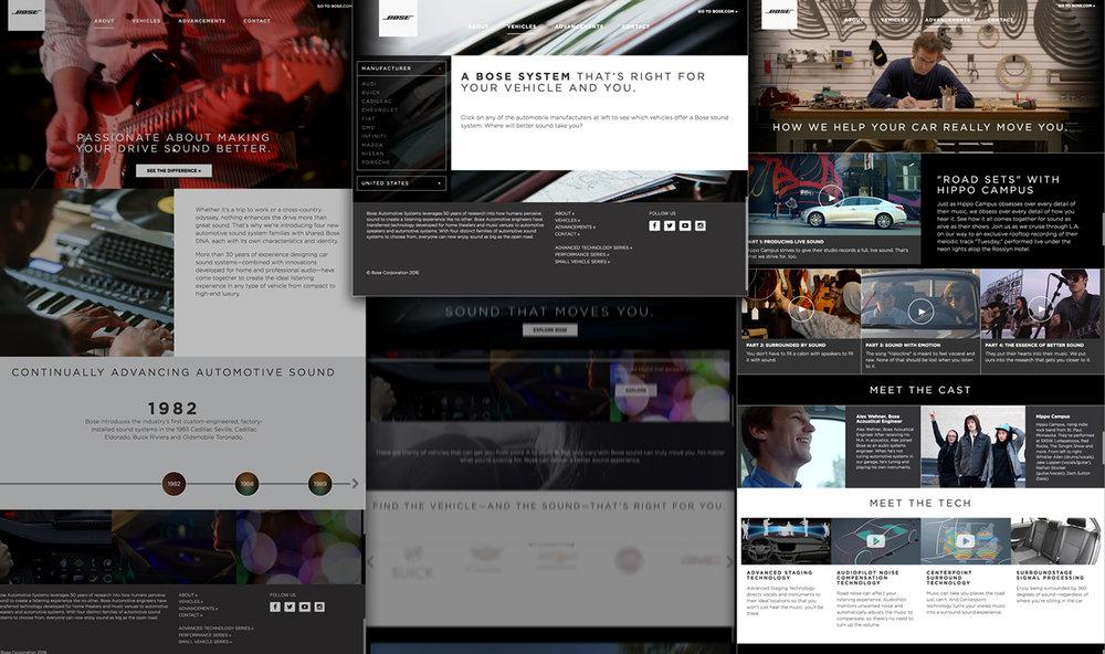 Automotive: Desktop Experience