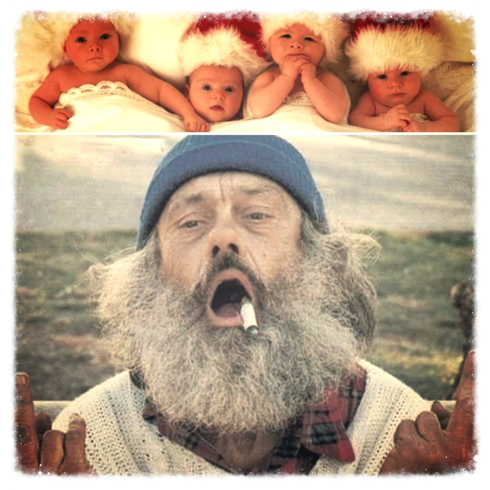 """Fuck the babies on Christmas!"" - the Holiday Hobo"