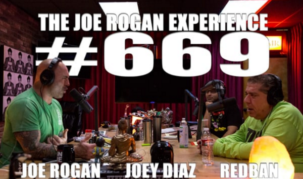 The episode our clip we played came from - Joe Rogan Experience #669