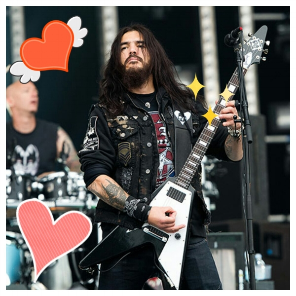 "Bae <3  Robb Flynn is one of Cassi's imaginary husbands and her song pick this week was Machine Head's version of Iron Maiden's ""Hallowed Be Thy Name."""
