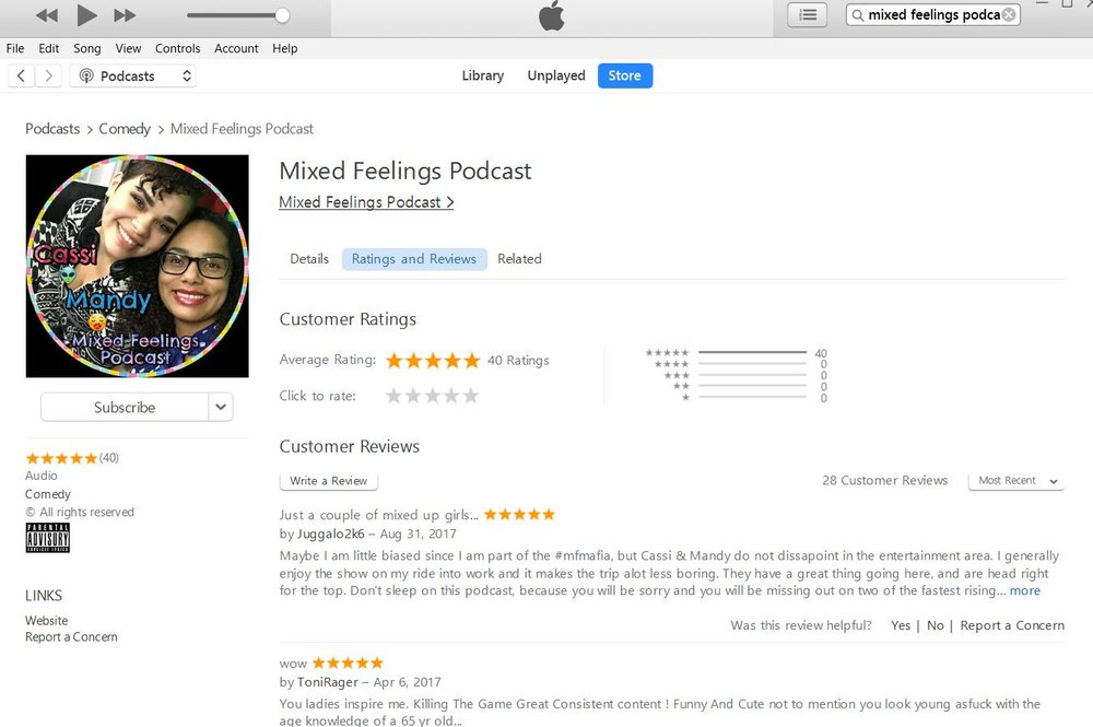 Listening to the show in iTunes? Go give us a 5 star rate and review if you're enjoying it! It really helps us to move up in the ranks and become more discoverable!