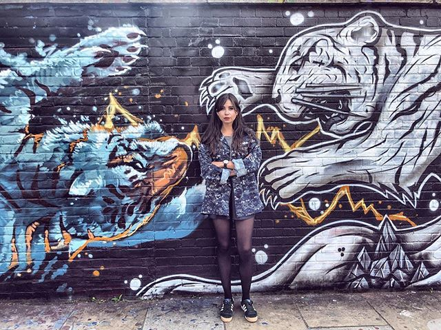 How grumpy am I about being back in London? This grumpy 🐅 #createeveryday #creativelife #london #thisislondon #unlimitedlondon #visitlondon #graffiti #streetart #art