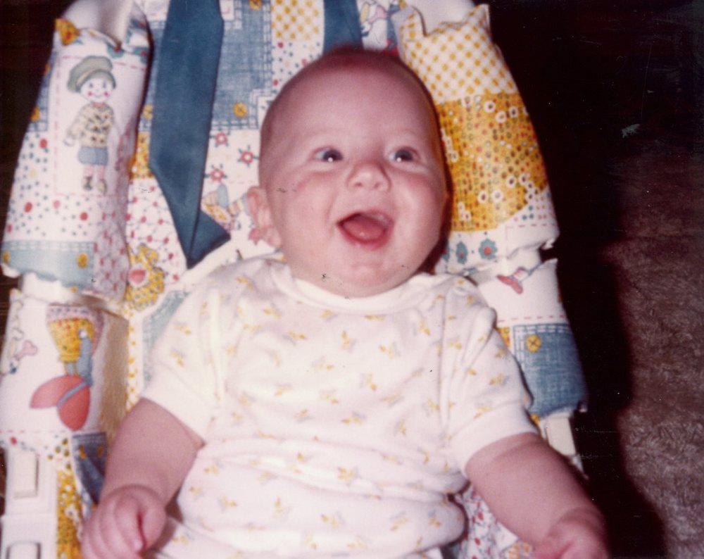 Wasn't I cute?