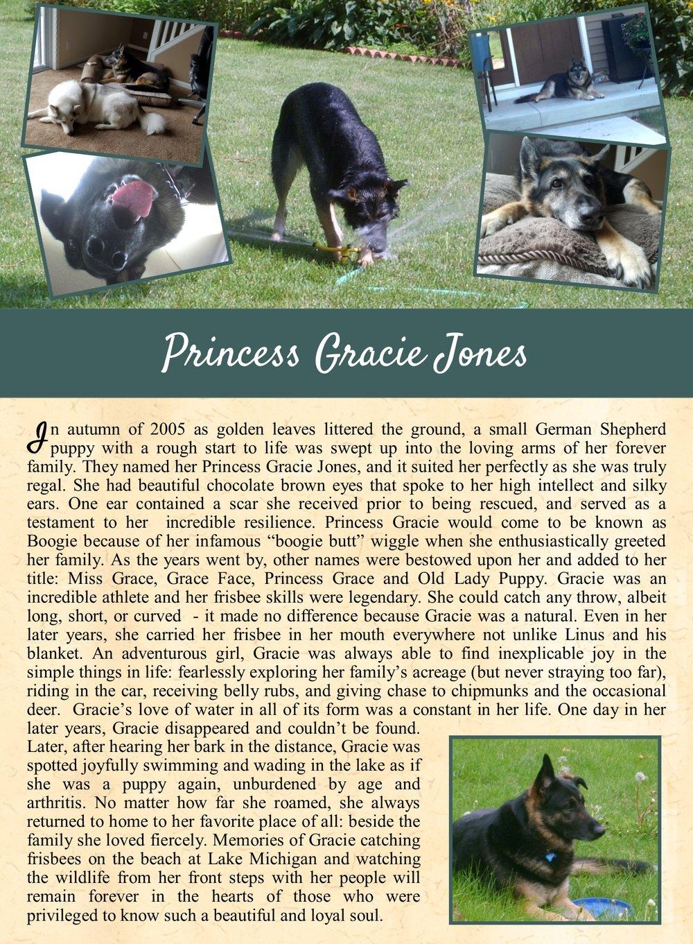 Princess Gracie Jones