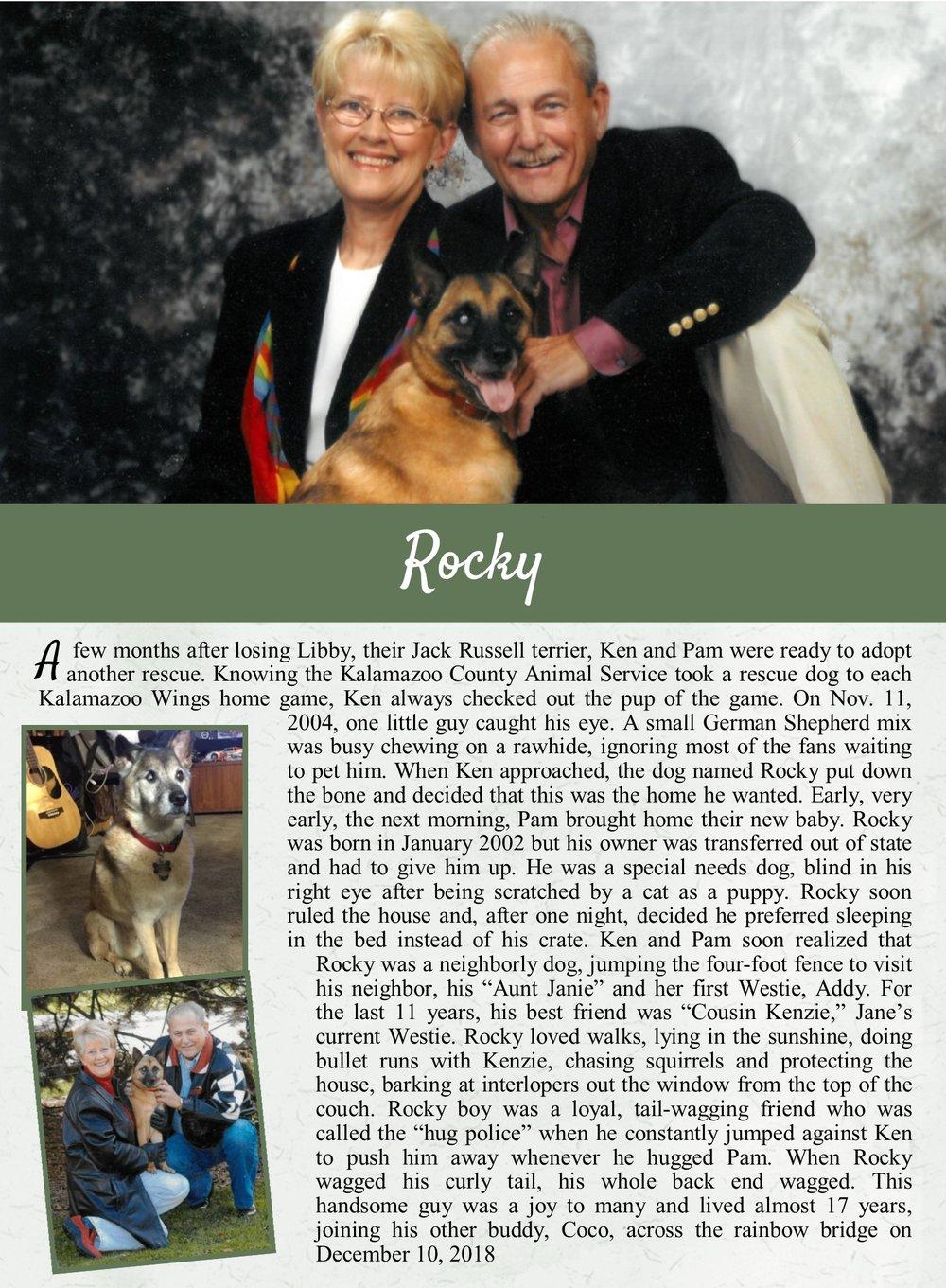 Rocky's Life Tail