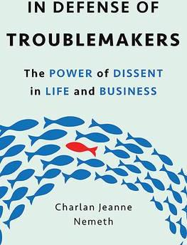 In defense of troublemakers 201,-