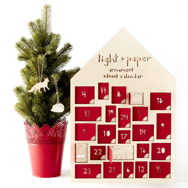 Advent Ornament Calendar