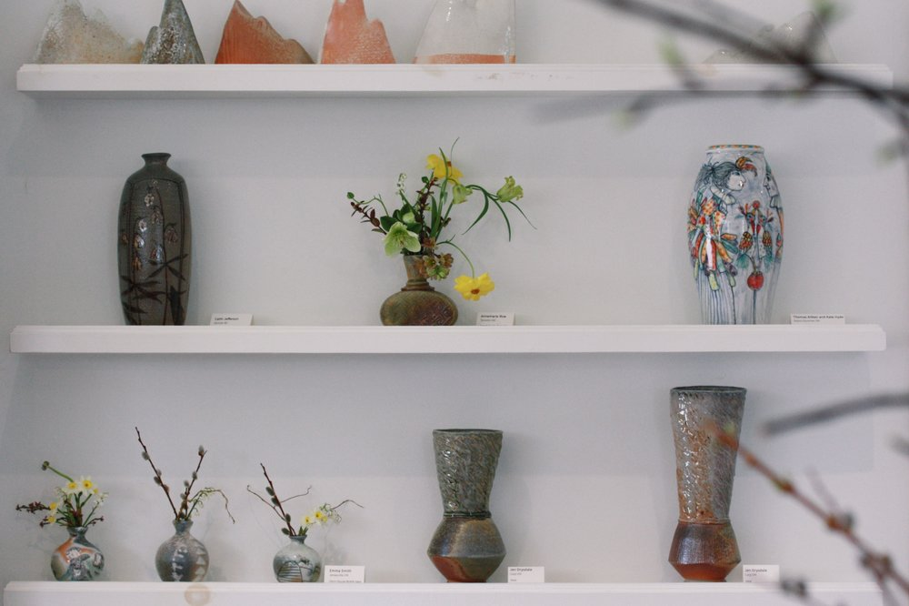 Vessels for Flowers at Black & Smith