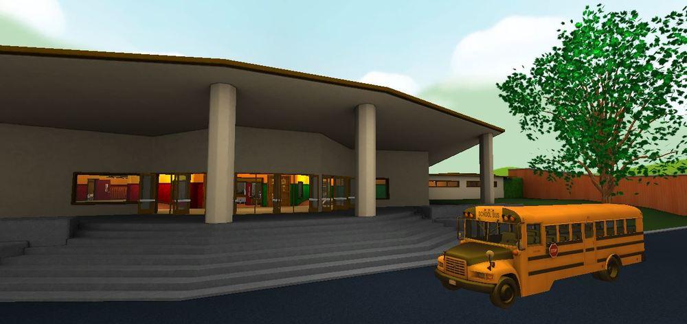 Exterior & Schoolbus