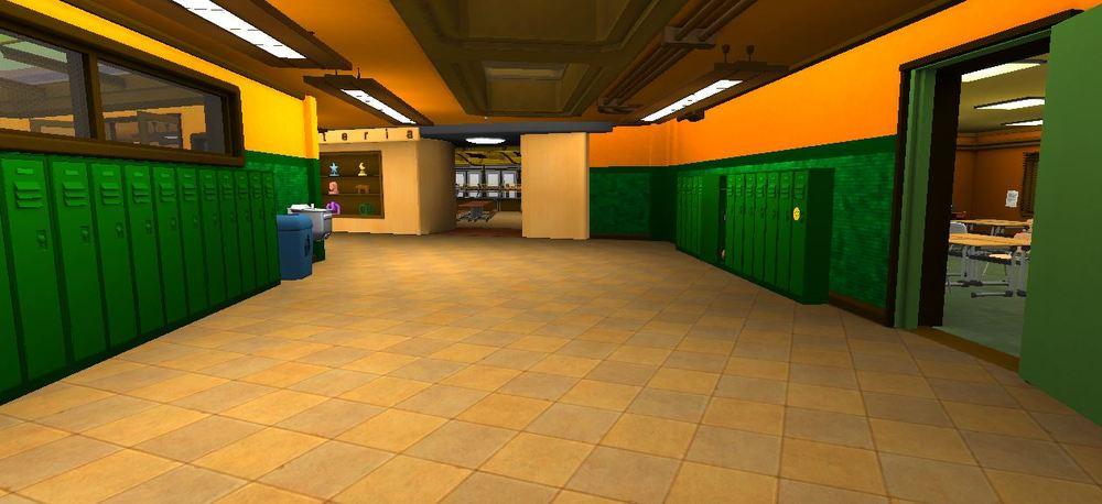 Hallway & Lockers