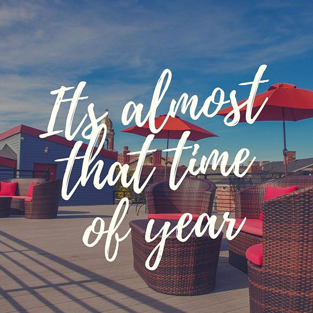 Wishing the weather was more like yesterday.... BUT we are approaching warm weather! Which means more time spent on our rooftop deck....we can't wait!  Is your company planning a meeting? Check us out! • • • #niceweather #rooftopdeck #rooftop #cincyeats #cincy #cincyexperience #meetingspace #meeting #convention #creativity #meetingspaces #eventspace #event #venue #meetingprof #meetingplanner #eventplanner #meetingvenue #businessservices #groups #boost #unique