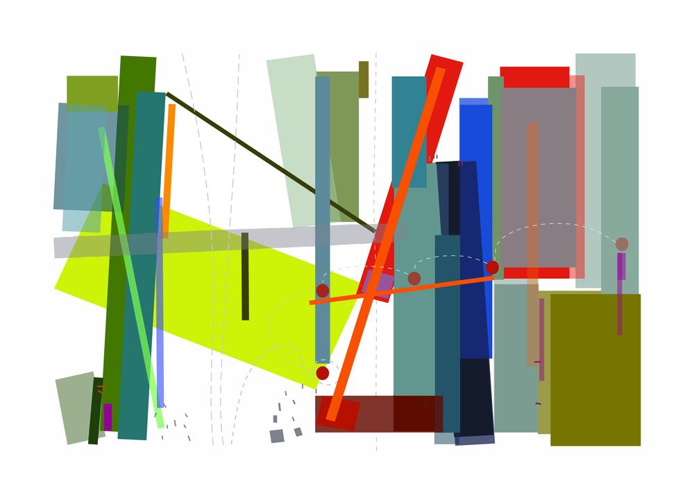 """Carnival""  Digital Print"