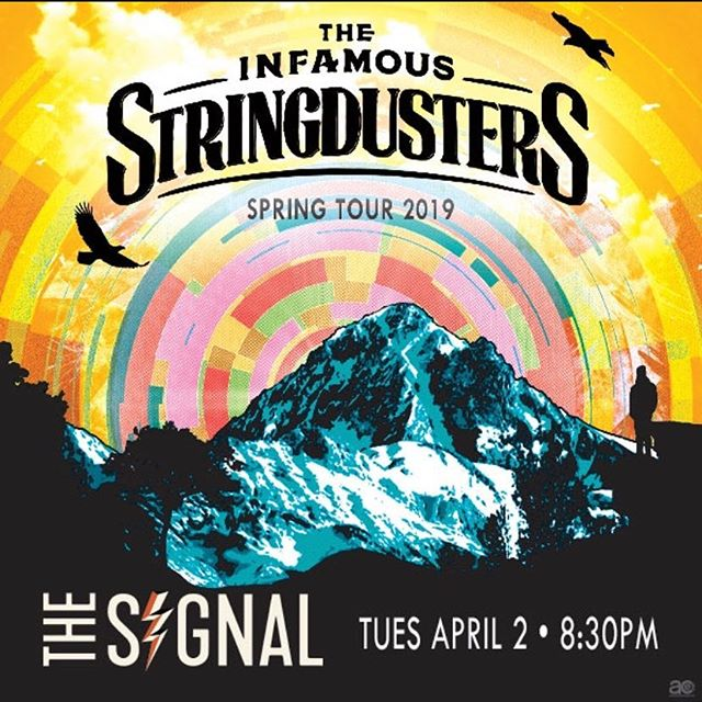 •CONTEST GIVEAWAY•  Tie up those shoe strings because we're about to start dancing! Chattanooga Presents and the Nightfall Music Series has partnered with AC Entertainment to give some bluegrass pals a pair of tickets to the Infamous Stringdusters at the Signal on Tuesday, April 2nd! Check out Chattanoogapresents.com/upcoming-events for contest details.  Good luck! #risesuntour2019