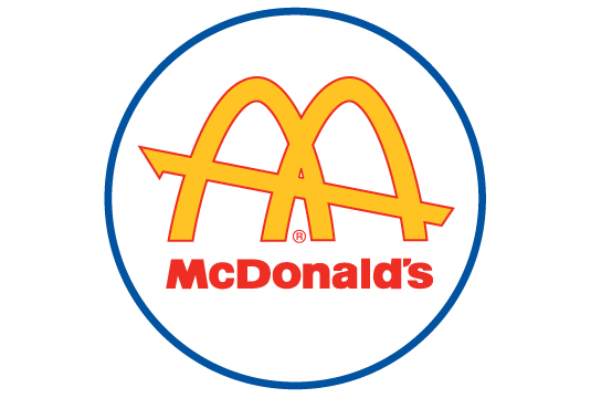 mcdonalds first arches logo, mcdonalds logo branding history